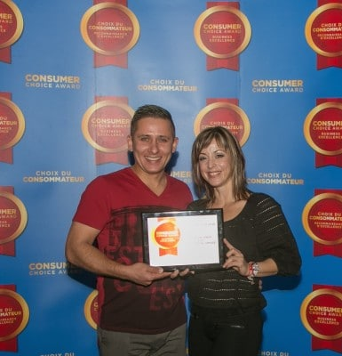 IntelCrete Consumer Choice Award Winner